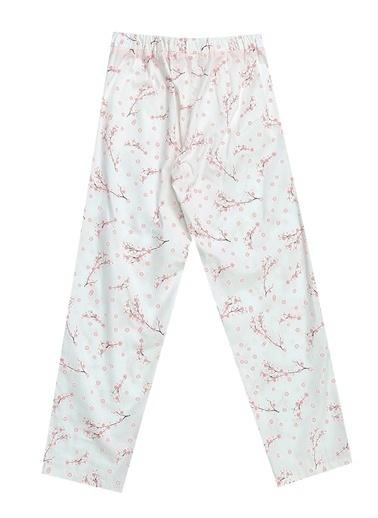 Pink&Orange Pantolon Beyaz